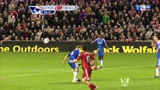 Carroll Bicycle Kick Attempt Vs. Chelsea 2012