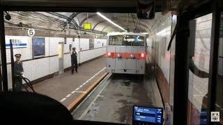 関電トンネルトロリーバス 前面展望 Kanden Tunnel Trolleybus (2015.7)