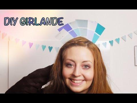 Wir basteln dekoration aus farbkarten youtube for Farbkarten kostenlos