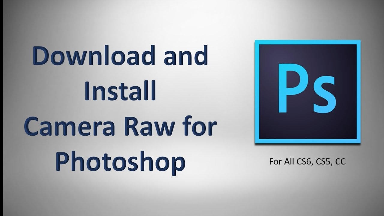 adobe camera raw download cs5