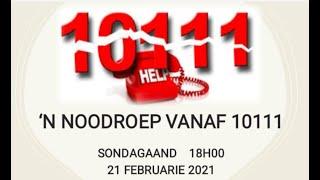 'n Noodroep vanaf 10111