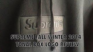 Supreme Fall/Winter 2014- Tonal Box Logo Hoodie (Review/Fit)(, 2014-12-16T20:23:30.000Z)