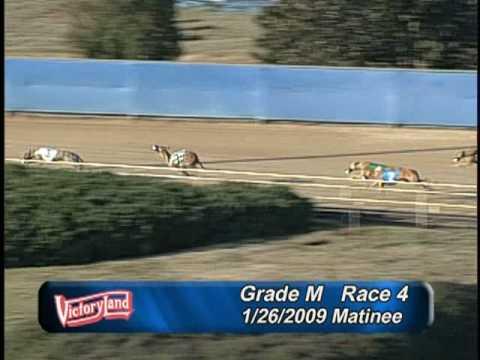 Victoryland 1/26/09 Matinee Race 4