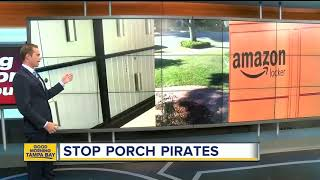 How to stop porch pirates
