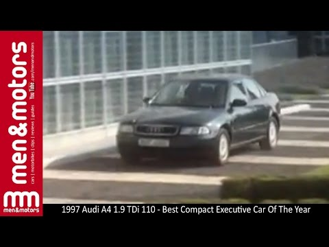 1997 Audi A4 1.9 TDi 110 - Best Compact Executive Car Of The Year