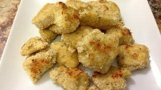 Healthy Chicken Nuggets - Hasfit Healthy Chicken Recipes - Healthy Kids Recipe - Chicken Recipe