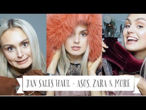 JAN SALES HAUL - ASOS, ZARA & More