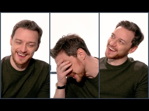 James McAvoy about being a baker, cross dresser and wearing high heels