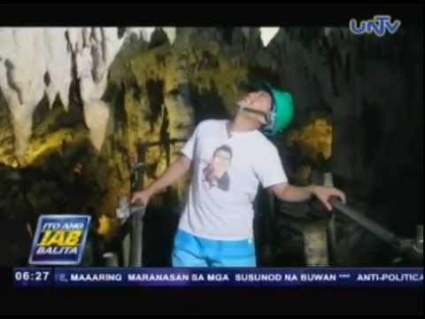 Crystal cave sa Mabinay, tinuturing ng world-class tourist attraction dahil sa  ganda ng stalactites