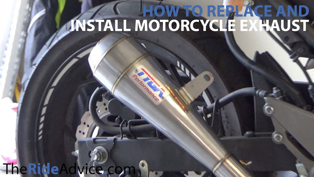 Understanding How Motorcycle Exhausts Work -