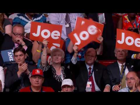 Vice President Joe Biden at DNC 2016