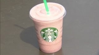 Starbucks uses bugs to color drink