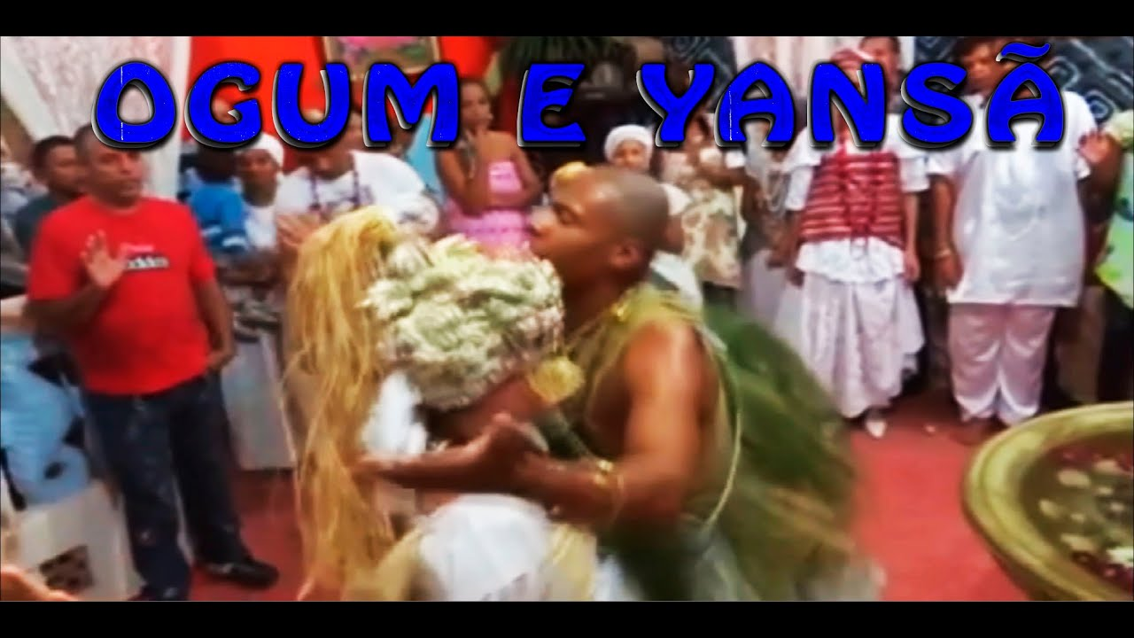 Orixá Ogum convida Yansã para dançar - Run dos Orixás em Xirê no Candomblé
