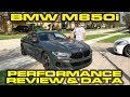 Bmw M850i Launch Control & Performance Review With Vbox Data