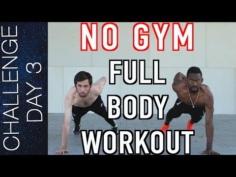 Day 3: NO GYM FULL BODY WORKOUT – Pro soccer player's bodyweight workout