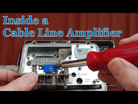 What's Inside a Cable Line Amplifier?