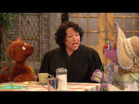 """Sesame Street: Sonia Sotomayor: """"The Justice Hears a Case."""""""