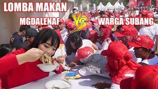 LOMBA MAKAN LAWAN WARGA SUBANG. GW MENANG !?!? *5 Mangkok Habis 2 Menit*