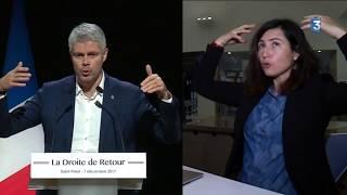 Laurent Wauquiez  - Son phrasé , sa communication