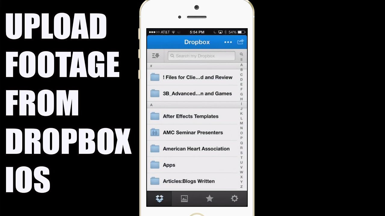 musica da dropbox a iphone