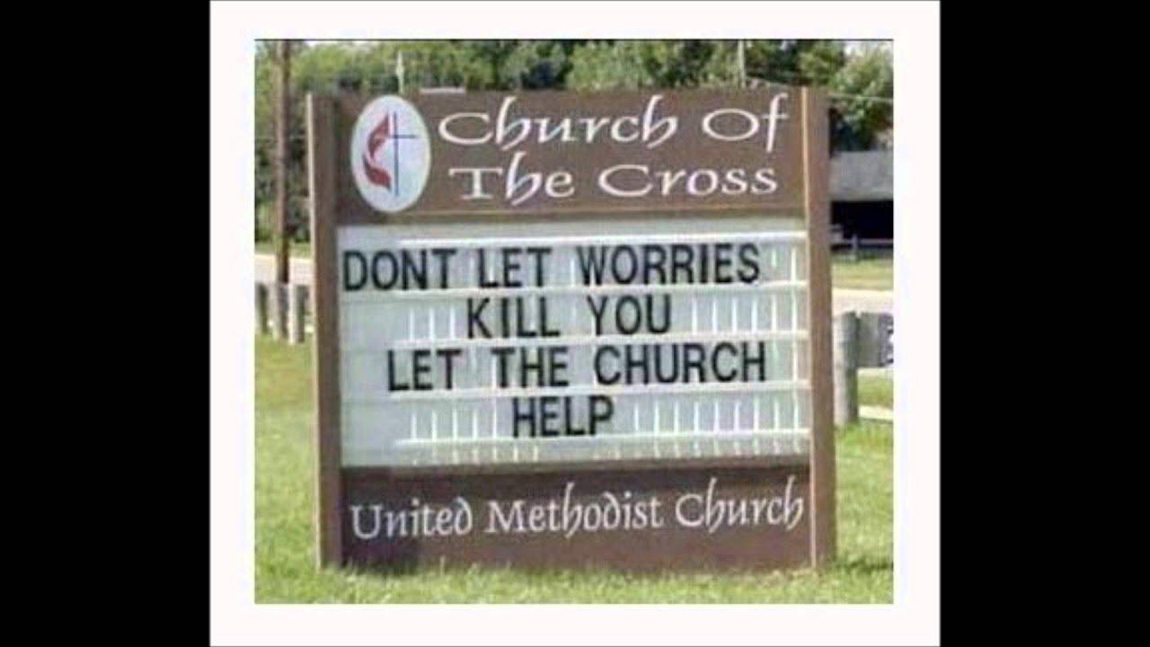 christian humor funny church signs 1   youtube