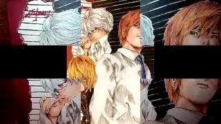 Speed Drawing - Death Note, Kira & Near & Mello