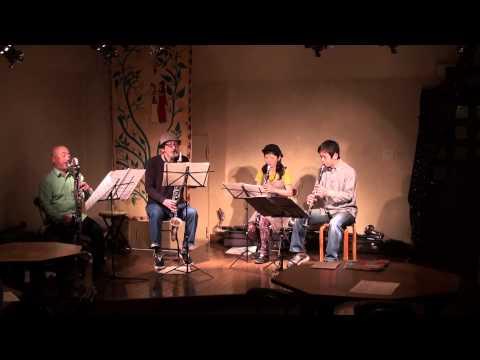 Precambrian Clarinet Quartet -No.1-