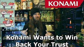 Konami Wants to Win Back Your Trust - Good Luck With That - AlphaOmegaSin