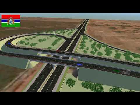 MODERN GAMBIA ROAD (MINISTRY OF TRANSPORT WORKS AND INFRASTRUCTURE)