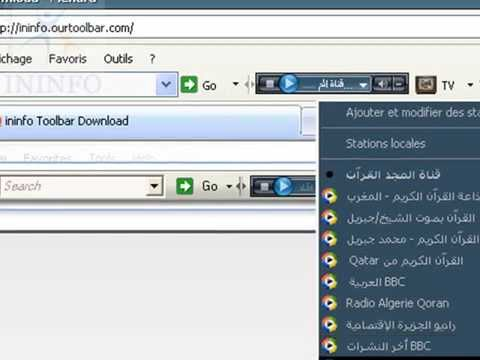 toolbar radio algerie