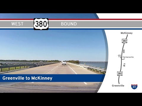 US Highway 380 - Greenville to McKinney - Texas |  Drive America's Highways 🚙