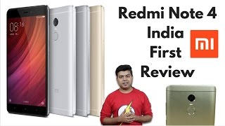 Xiaomi Redmi Note 4 India First Review, Pros, Cons, Comparison, Not Unboxing | Hindi