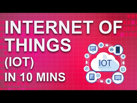 Internet Of Things (IoT) In 10 Minutes   What Is IoT And How It Works   Great Learning