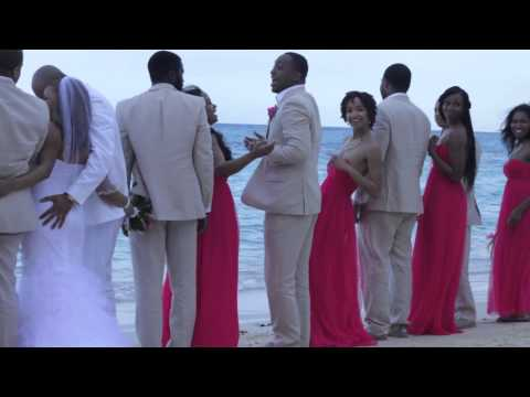 Oaklyn Presents Shannon & Sheldon's Valentine's Day Jamaica Wedding Celebration