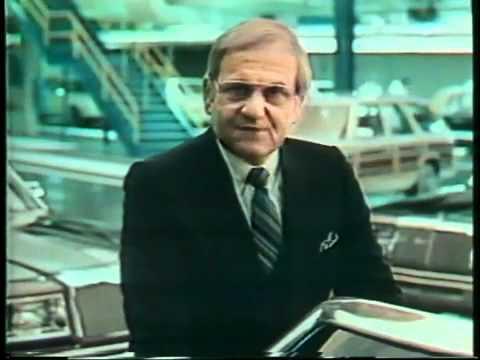 Ли Якокка (le Iacocca) в рекламе Chrysler. 1982 год.