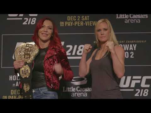 UFC 219: Cris Cyborg vs Holly Holm - Media Day Faceoff