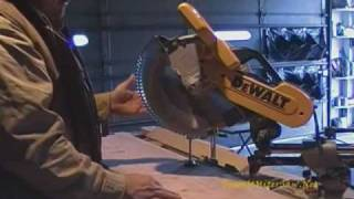 Dewalt Miter Saw-dw718 Sliding Compound Miter Saw Demonstration