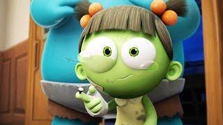 Spookiz | Zizi Gets Hurt | 스푸키즈 | Funny Cartoon | Kids Cartoons | Videos for Kids