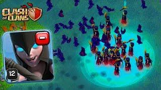 Clash of Clans LES COMBOS SORCIERES DE LA NUIT EN MDO 6 BH 6