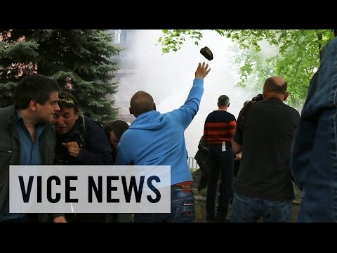Rocks and Rubber Bullets in Donetsk Police Standoff: Russian Roulette in Ukraine (Dispatch 32)