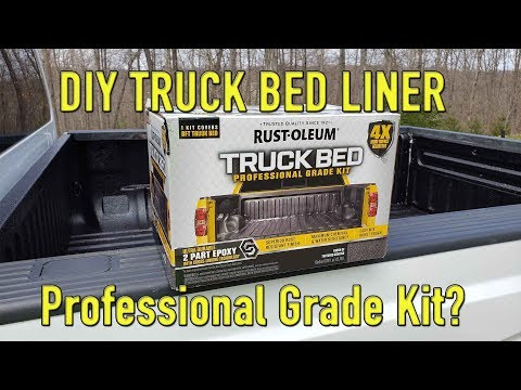 Rustoleum Professional Truck Bed Liner Kit Overview and Short Term Review