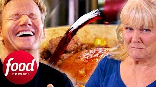 Mum Is Shocked Bỳ The Amount Of Wine In The Shepherd's Pie | Gordon Ramsay's Festive Home Cooking