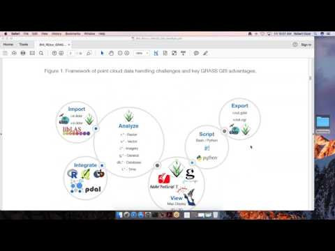 GRASS GIS A Point Cloud (LiDAR) Evaluation Resource
