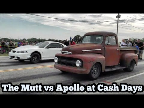 The Mutt Turbo Truck vs Apollo Turbo Cobra at Cash Days Oklahoma