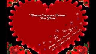 Woman Sensuous Woman Don Gibson