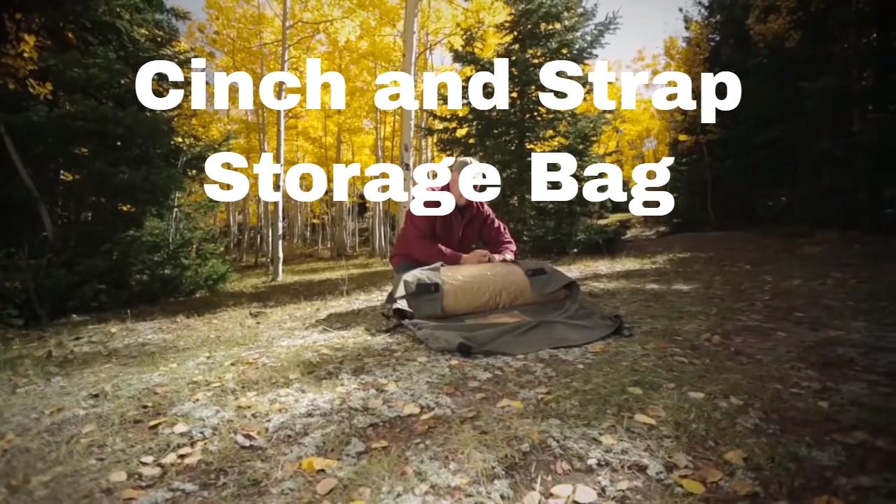 Kodiak Canvas 100115 Tent Carry Bag Strap u0026 Cinch & Kodiak Canvas 100115 Tent Carry Bag Strap u0026 Cinch - YouTube