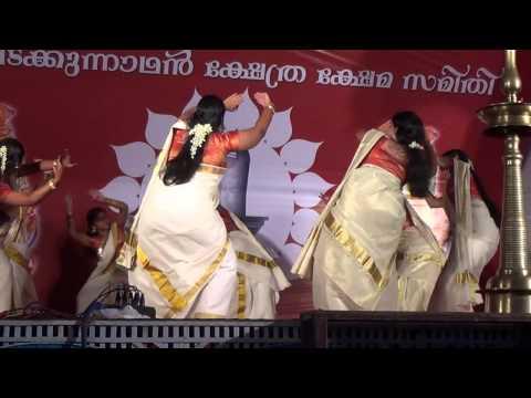 Thiruvathirakali (Kaithozham Krishna) At Vadakkunnathan Temple Thrissur