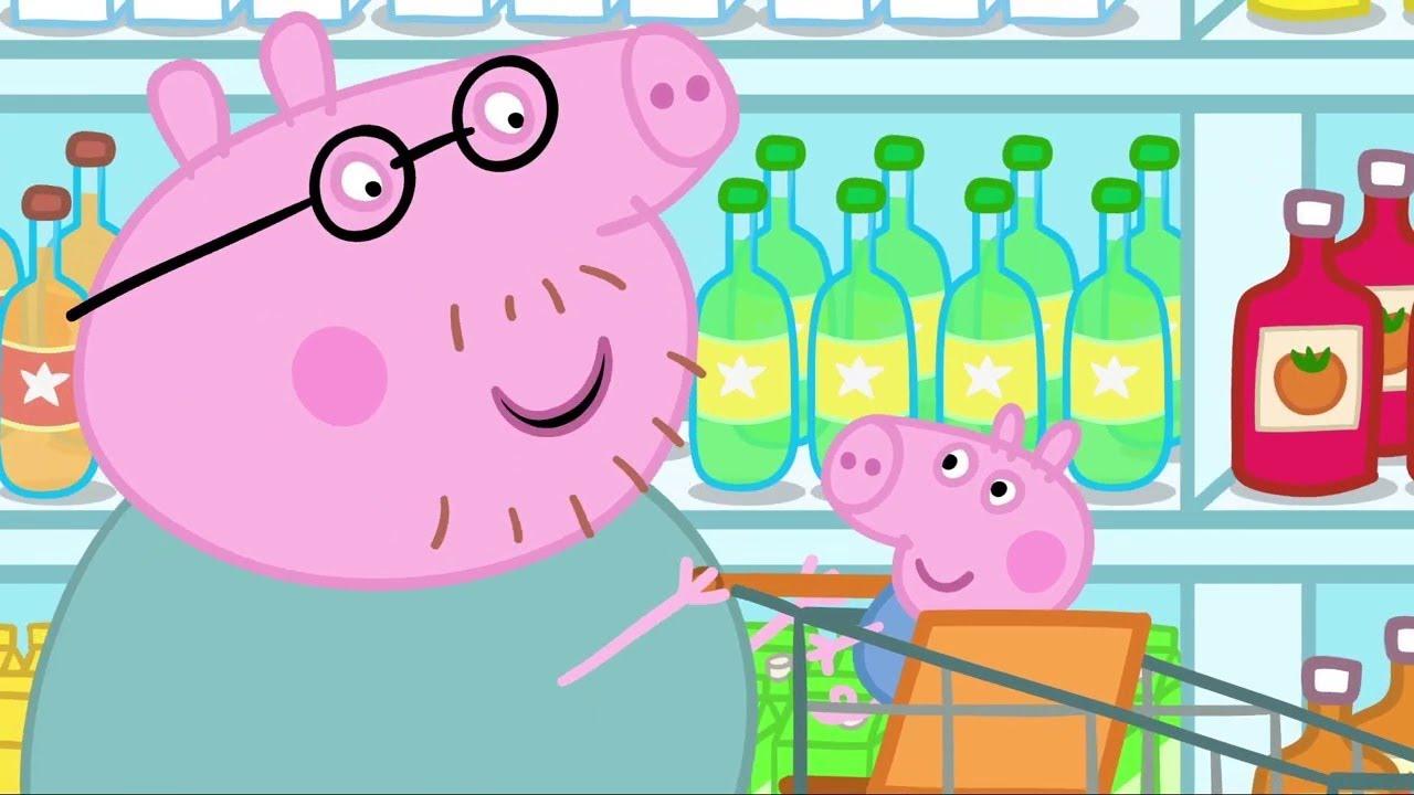 Peppa Pig | Öğle Yemeği |  Programının en iyi bölümleri | Çocuklar için Çizgi Filmler