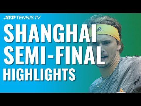 Medvedev \u0026 Zverev Set Final Clash | Shanghai 2019 Semi-Final Highlights