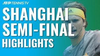 Medvedev & Zverev Set Final Clash | Shanghai 2019 Semi-Final Highlights